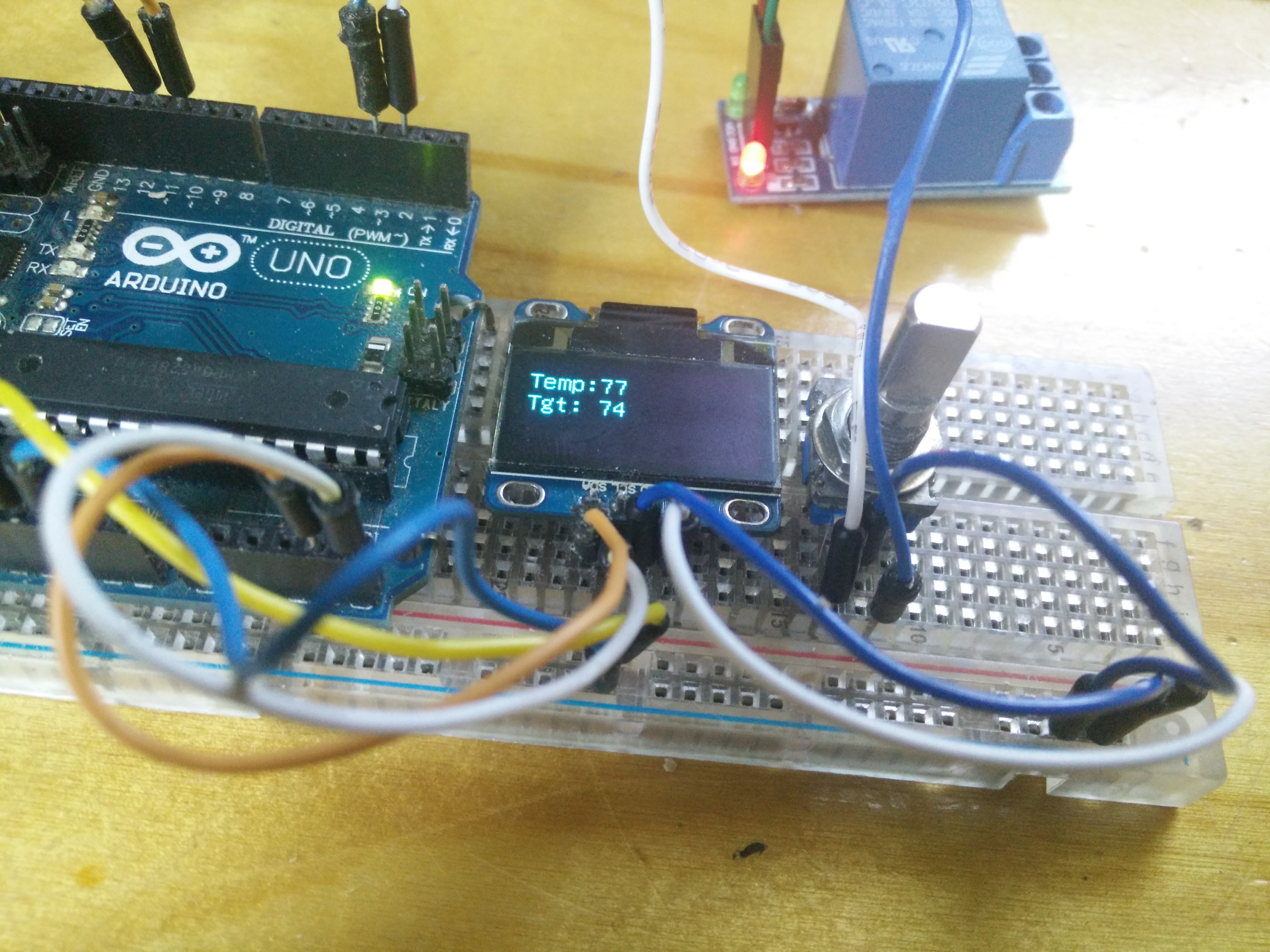 Picture of Arduino Thermostat for Window AC Unit (On the Cheap)