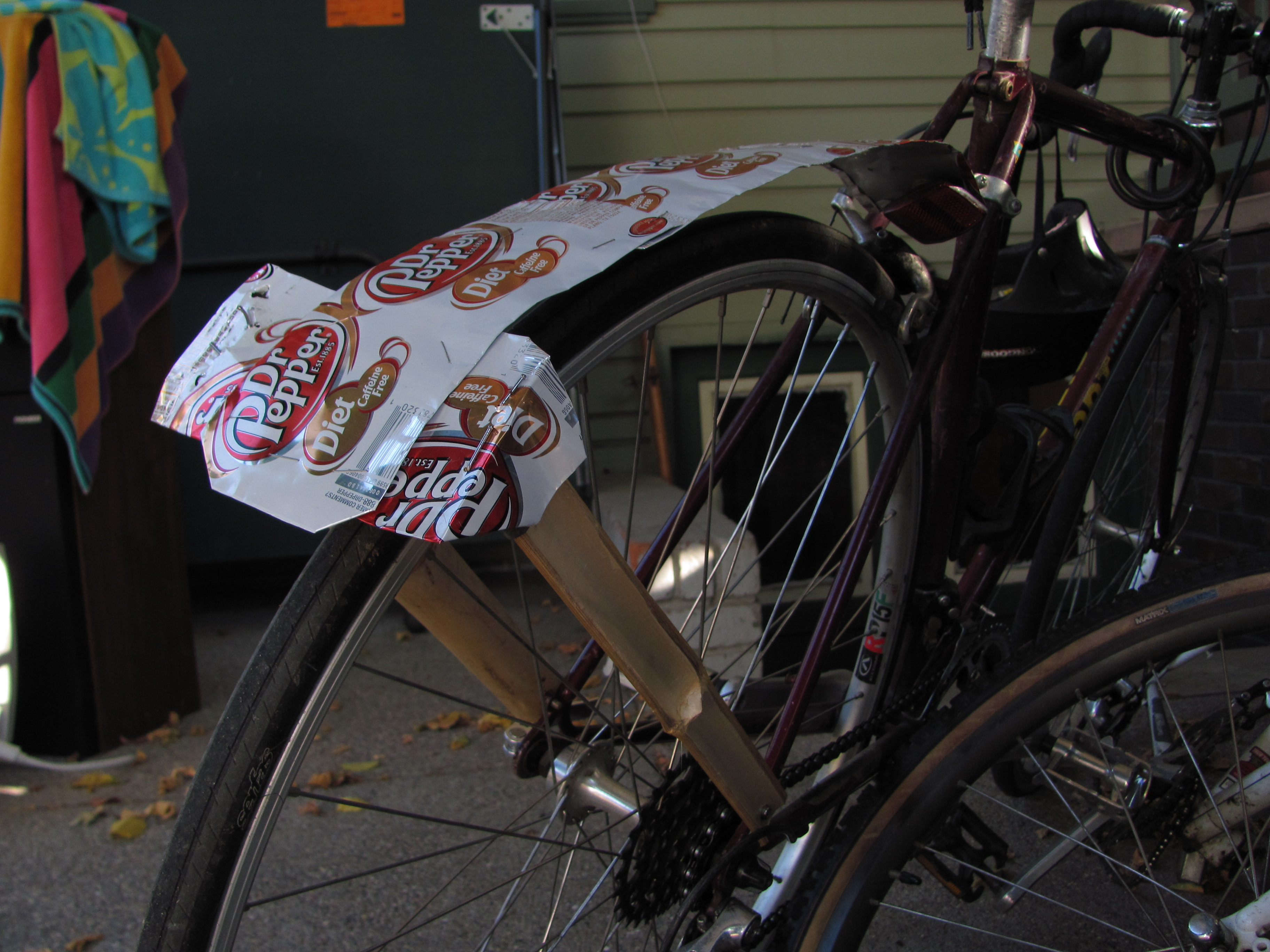 Picture of Bamboo Bike Stand and Fender