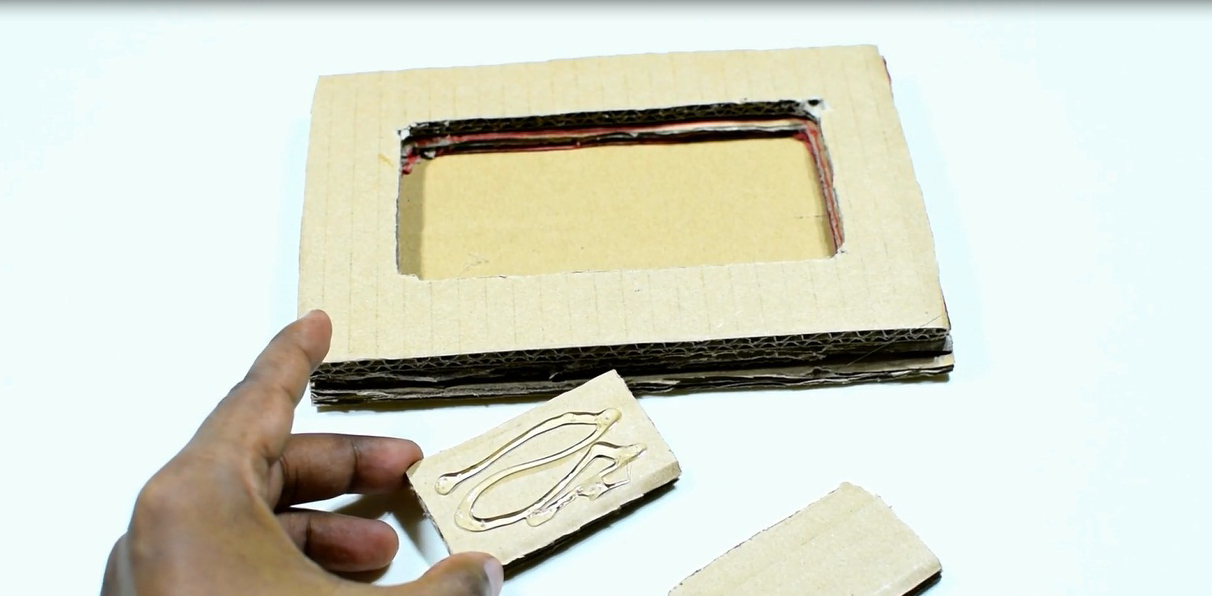 Picture of Now Take 2 Cardboard Piece