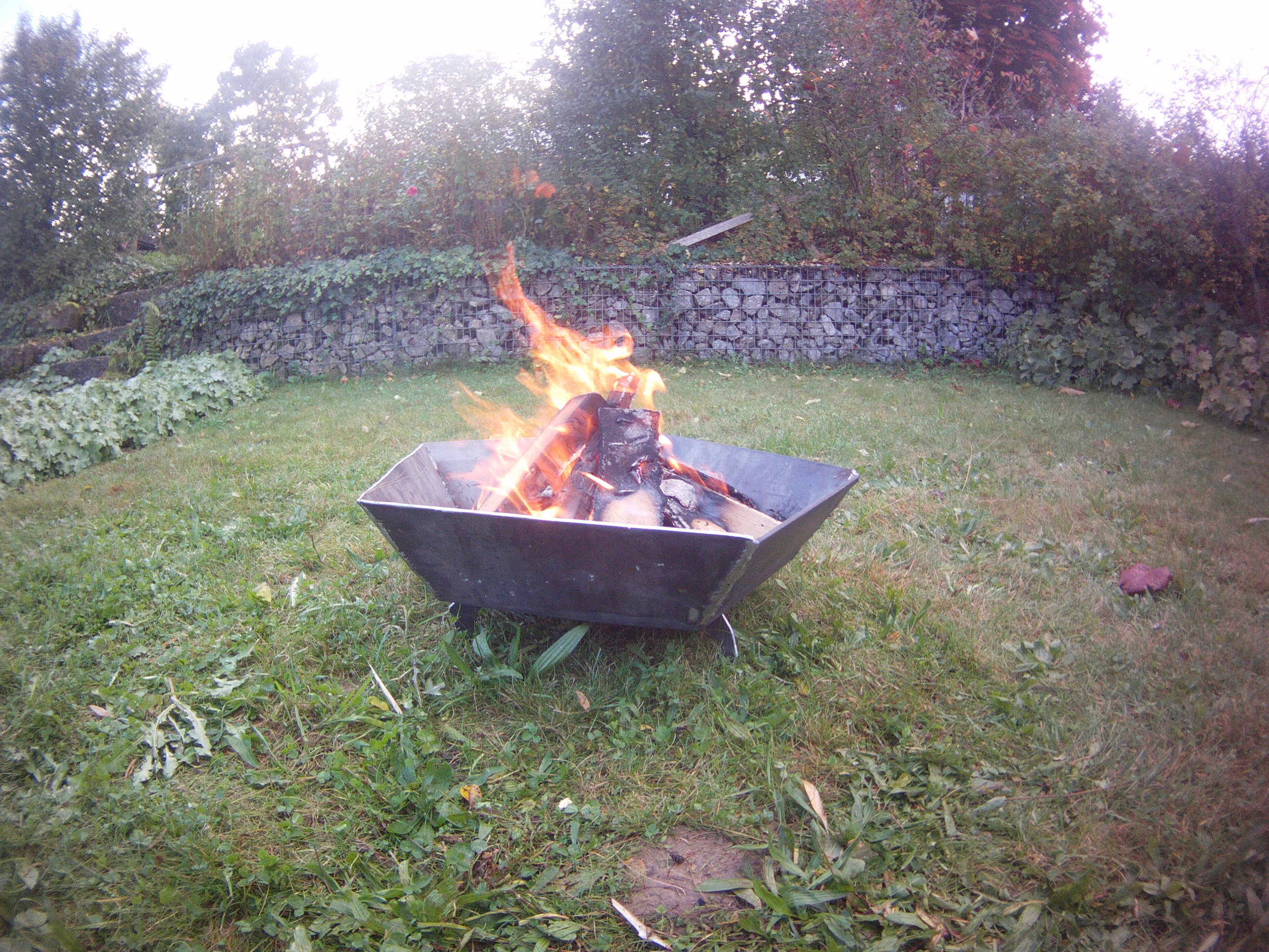 Picture of Pentagon Ufo Fire Bowl