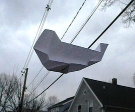 Paper Airplane Walkalong Glider