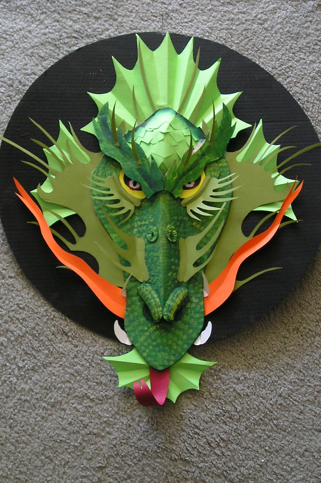 Picture of Cut Main Pieces Out of Cardboard