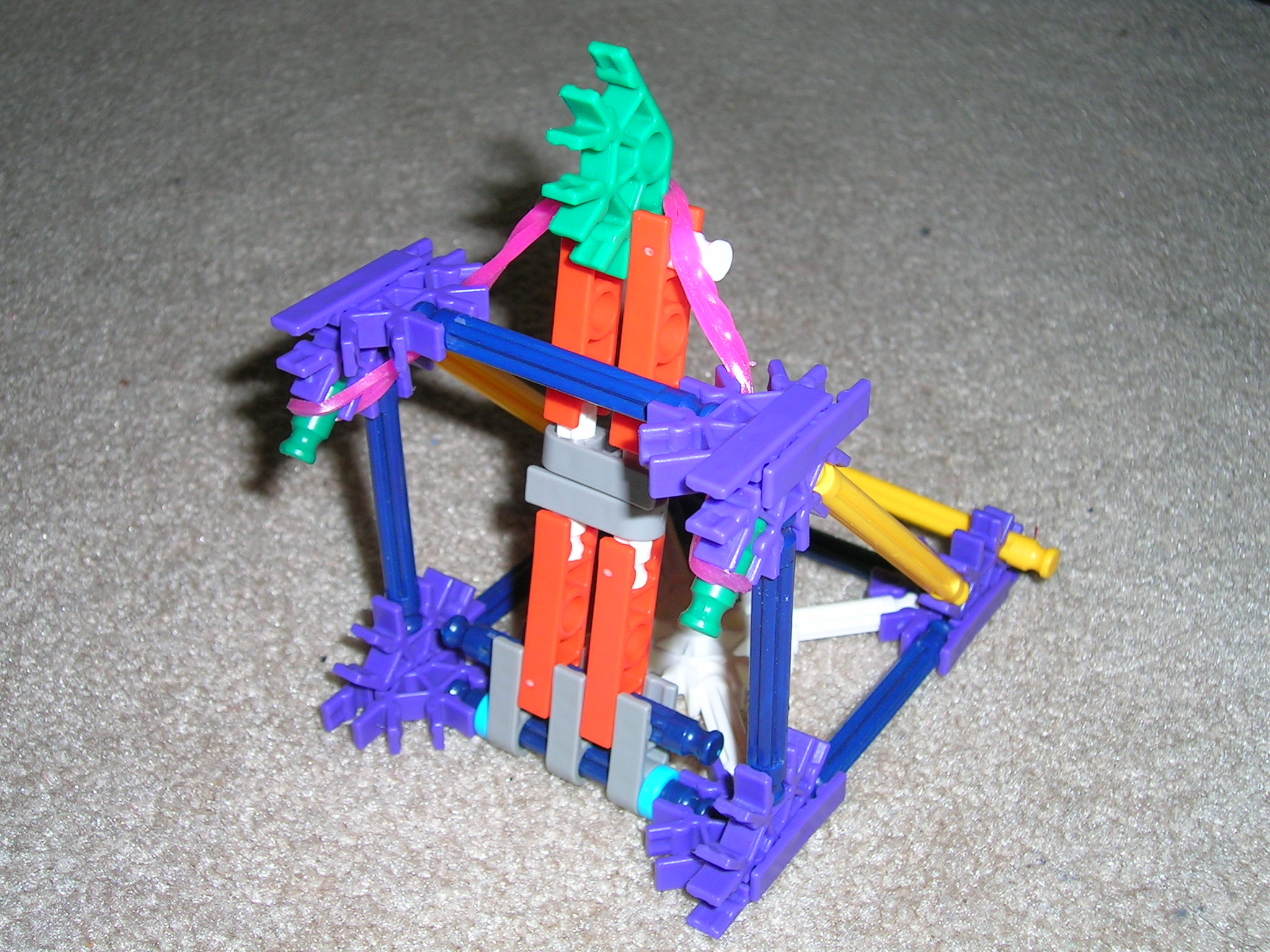 Picture of Easy K'nex Catapult