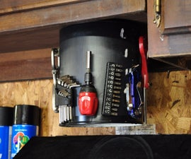 How to Make a Tool Carousel From a Paint Bucket
