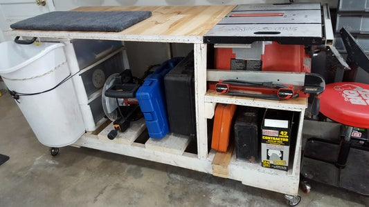 Mobile Work Bench of Death...