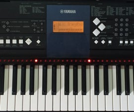 LED Piano Guider for Synthesia Using Arduino