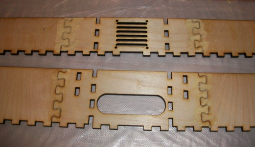 Build the Front, Back, and Face Plate