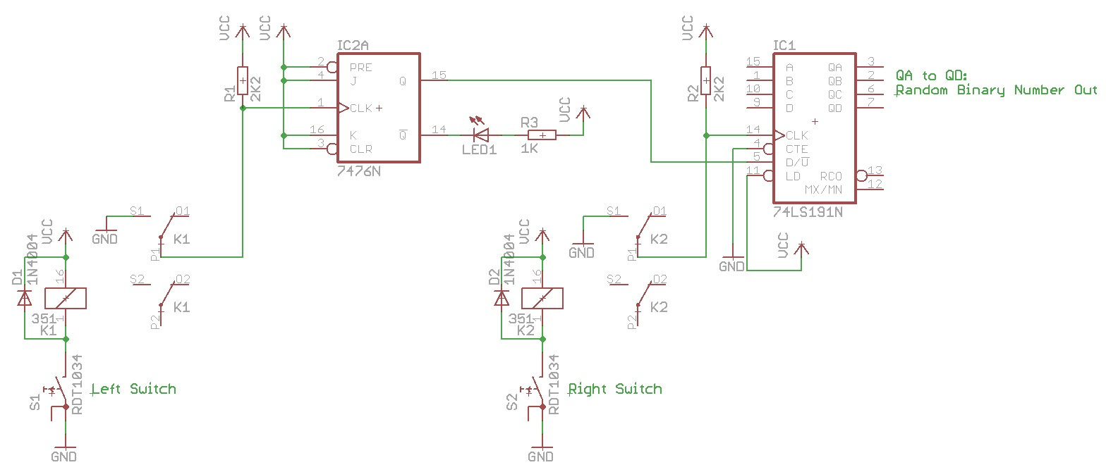 Picture of Schematic and Working (in a Nut Shell)