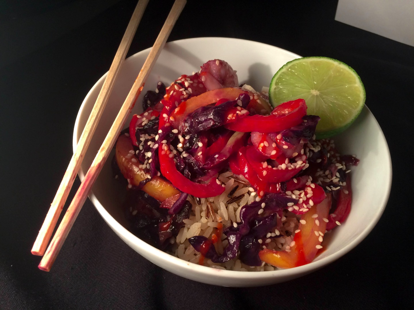 Picture of Freezer to Table in 10 Mins: Thai Shrimp Stir-Fry With Coconut Rice