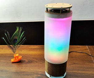 Desk Bluetooth Speaker With Audio Visualisation, Touch Buttons and NFC.