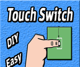 How to Make Touch Switch Using 555 Timer IC | DIY | Homemade | Basic Electronics Projects