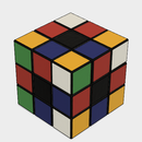 3D-printable Rubik's Cube in Fusion 360