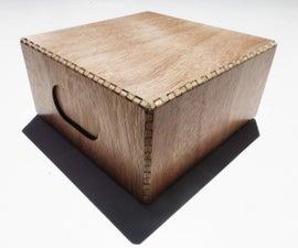Simple Laser Cut Wood Boxes