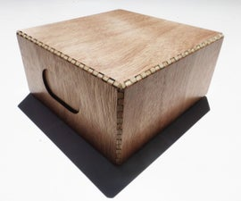 Simple Laser Cut Wood Boxes