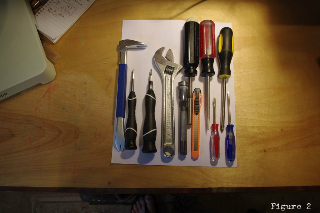 Picture of Laying Out the Tool Pockets