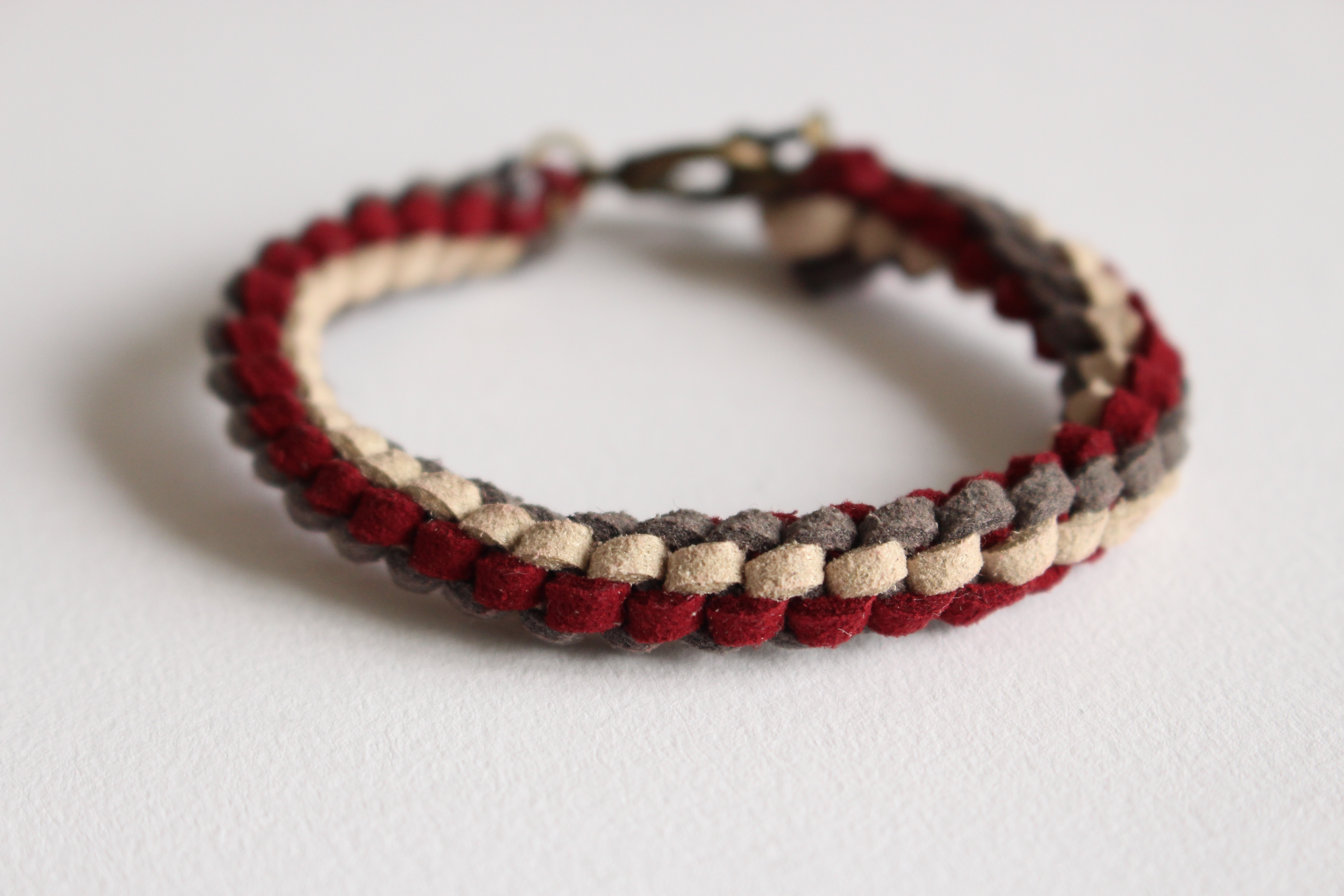 Picture of Knotted Suede Lace Bracelet