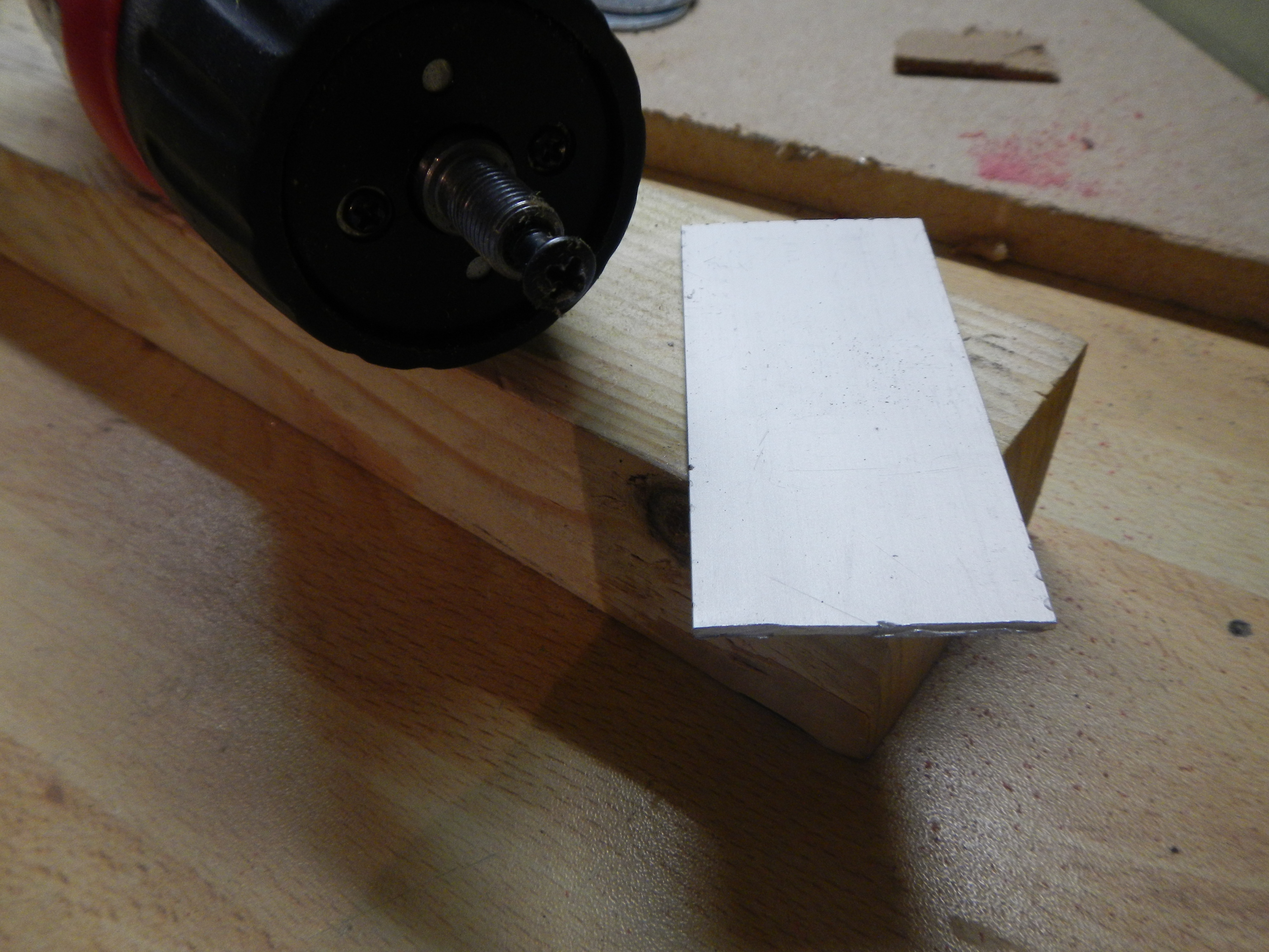 Picture of Make the Holder for the Drill
