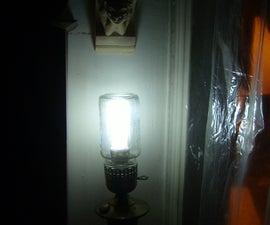 Steampunk Lamp - Lanterna Antiga