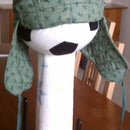 Quilted ear flap hat