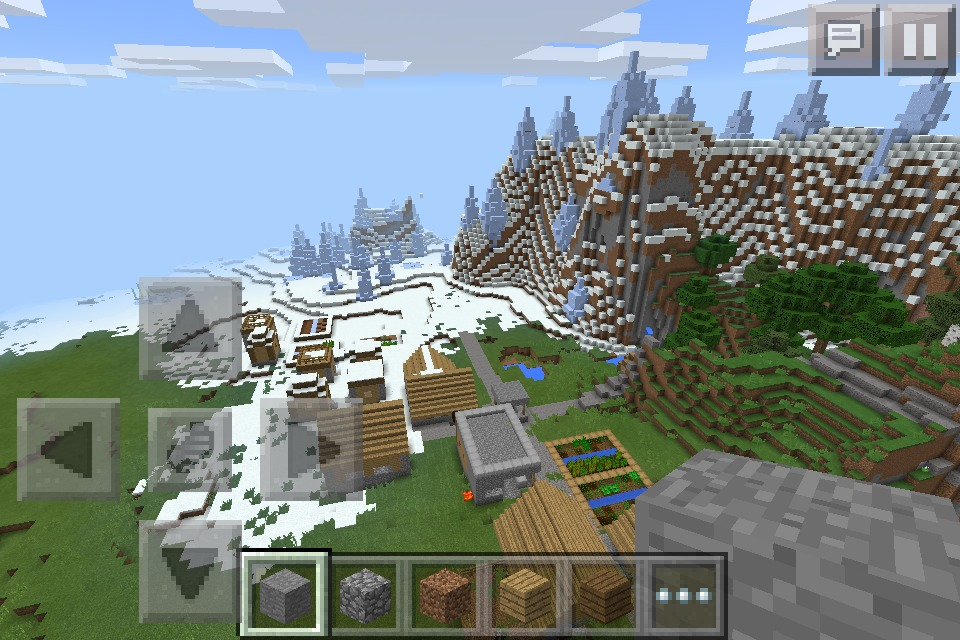Picture of VILLAGE SEED WITH ICE SPICKES!