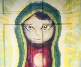 Virgen De Guadalupe En Puerta