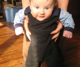 Quick and Dirty Infant Over-alls