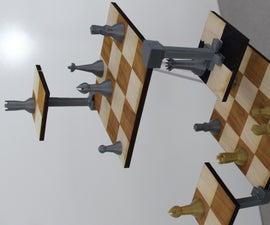 Three Dimensional Chess Board