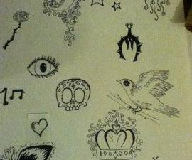 Temporary Tattoos :)