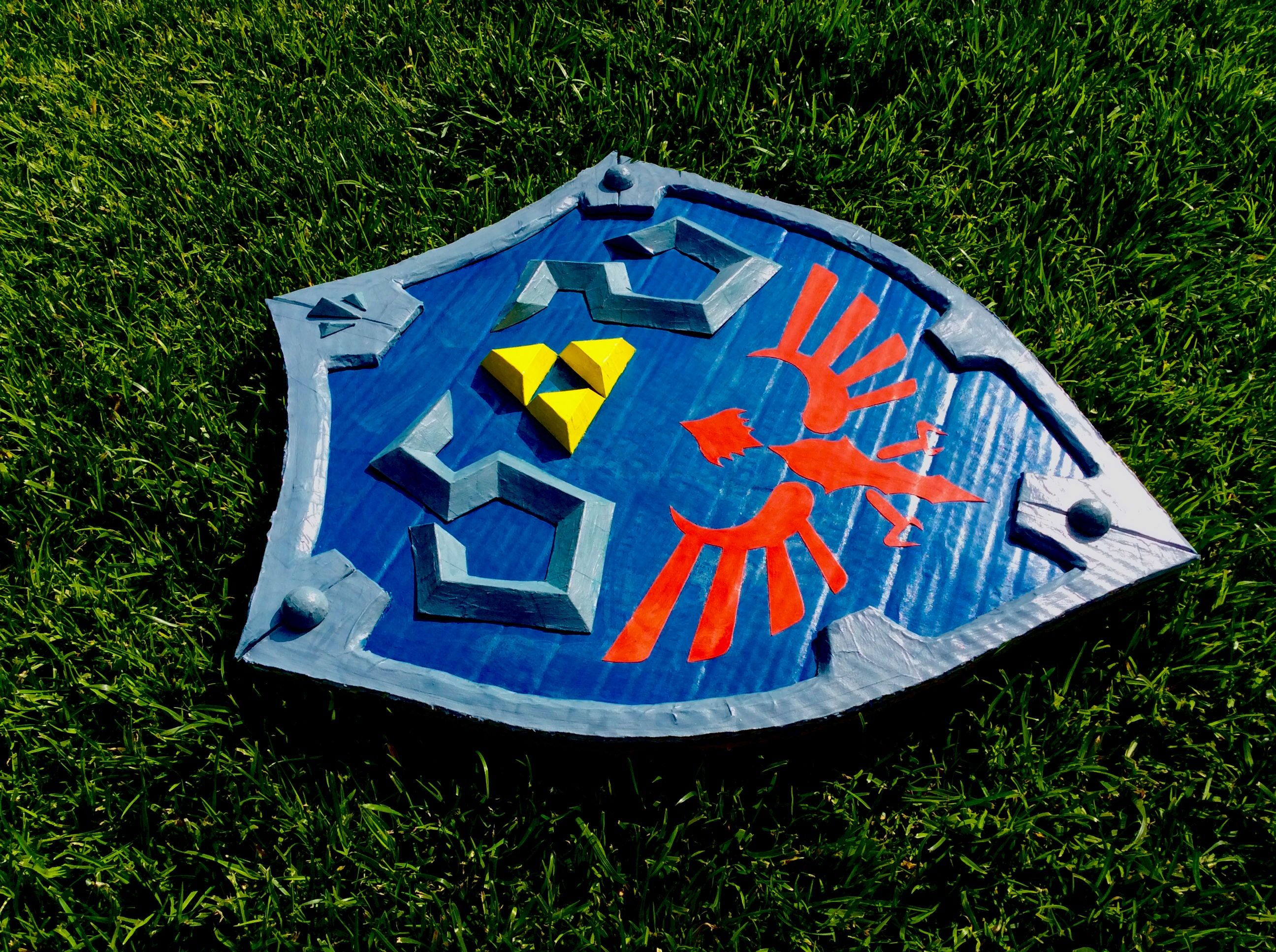 Picture of Cardboard Hylian Shield