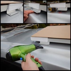 Stick Panel to Roof
