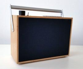 Reclaimed Bamboo Box Bluetooth Speaker