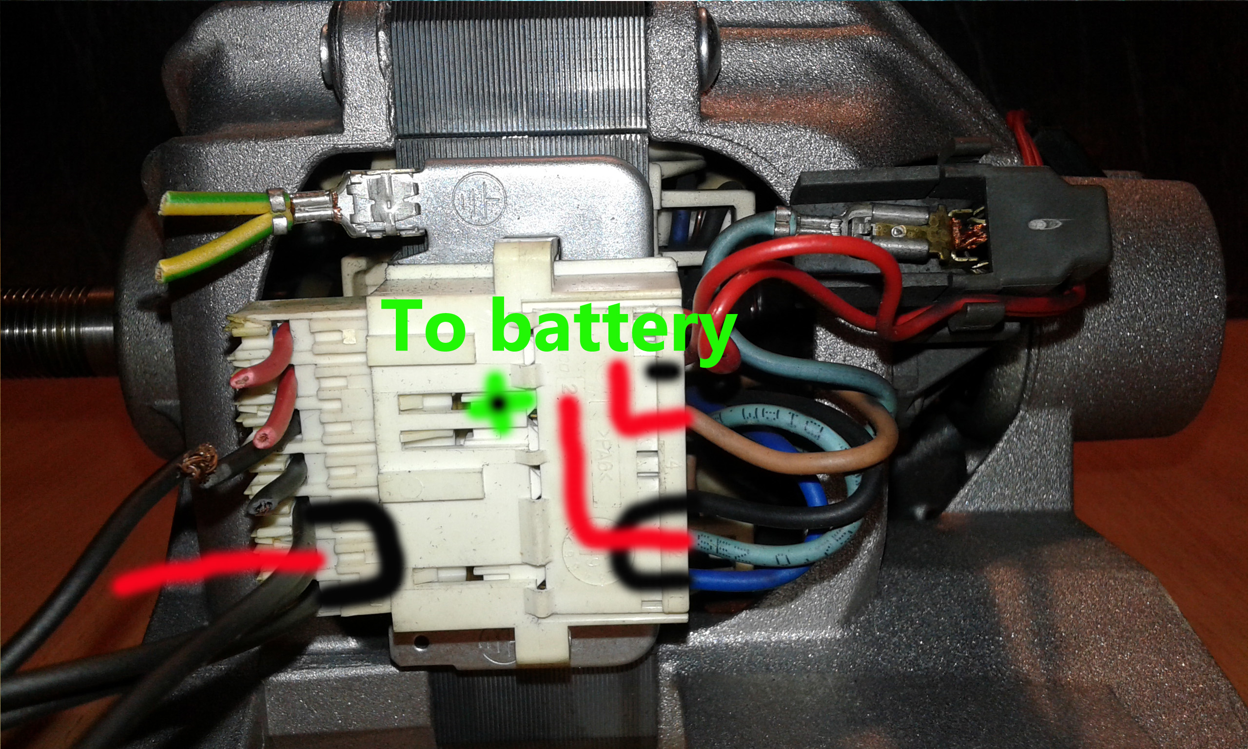 Picture of Video Washing Machine Motor Dc/ac