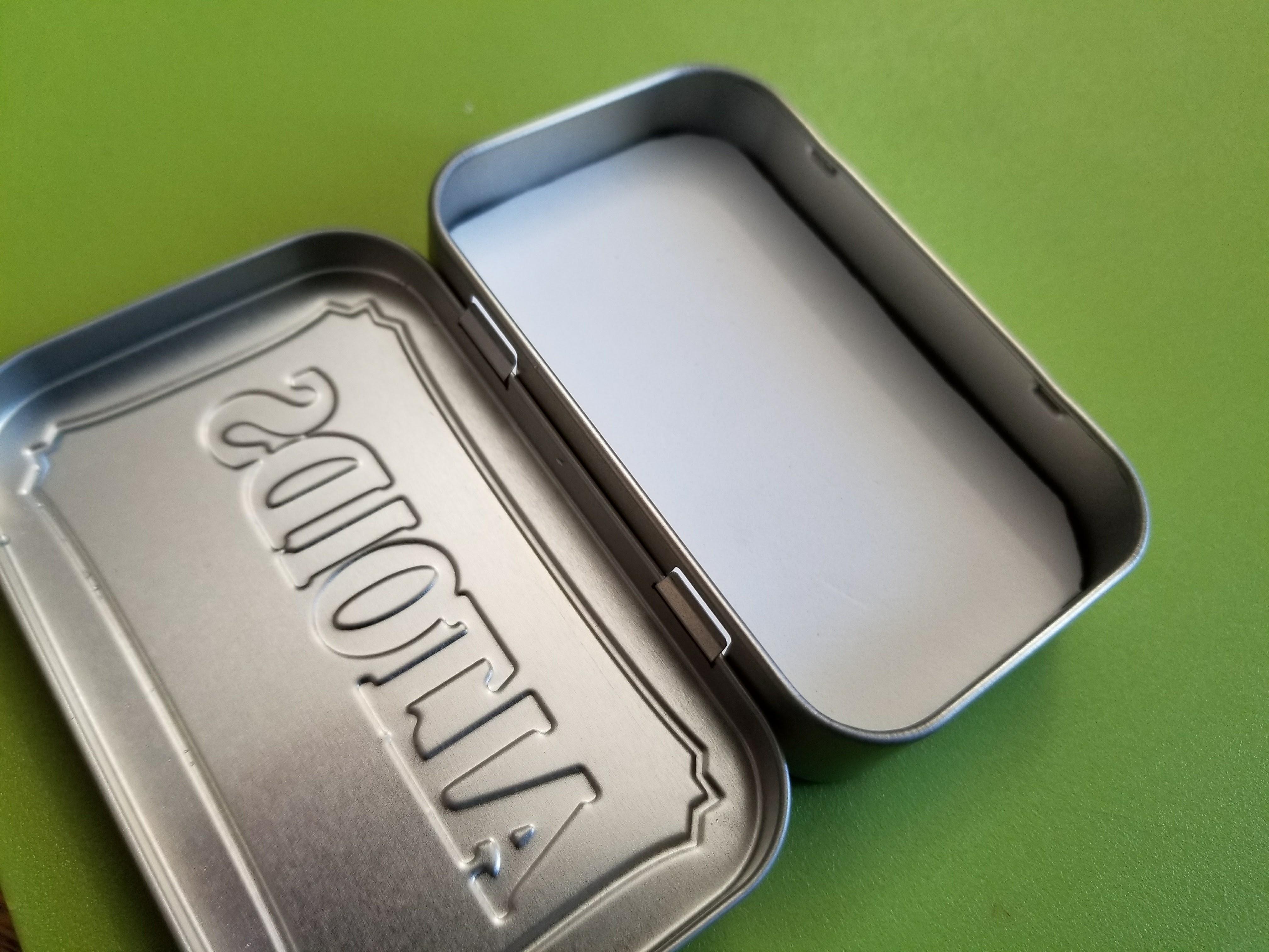 Picture of Glue the Foam in the Altoids Tin (Box B)