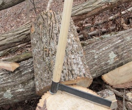 How to Make a Froe - a Green Woodworking Tool