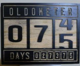 75th Birthday Present Oldometer