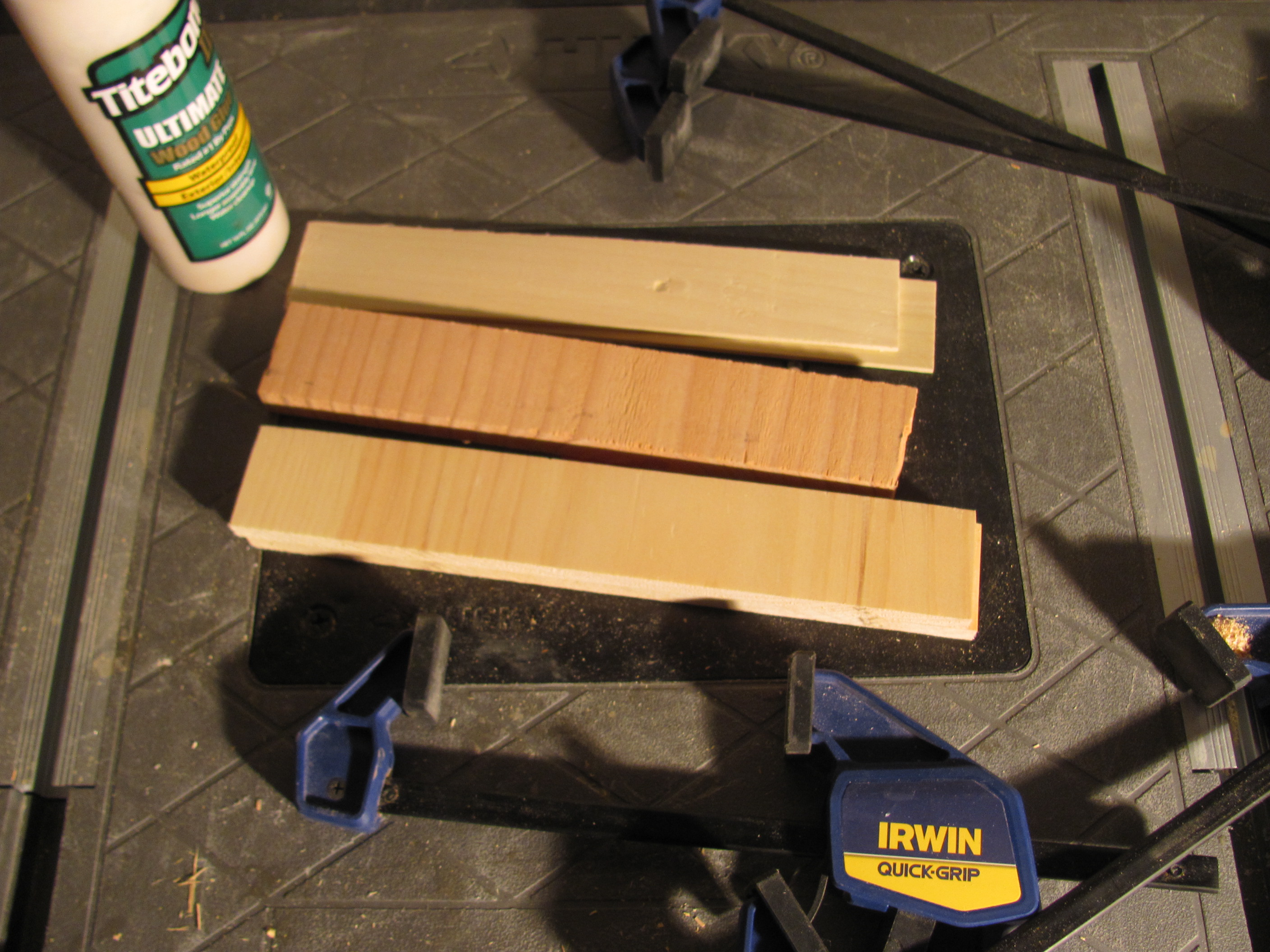Picture of Cutting and Joining the Wood