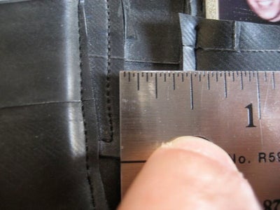 Prep the Pockets and Prepare to Sew Them to the Backbone