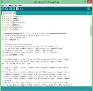 Coding the IR Receiver