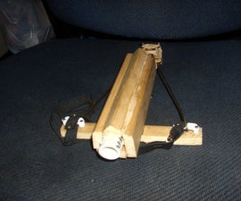 Make this Wooden PVC Rubber Band Crossbow/Gun