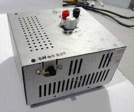 0 - 12 V LM317 Power Supply