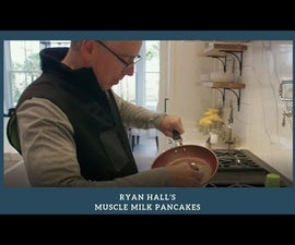Ryan Hall's Muscle Milk Pancakes - Breakfast of Olympians