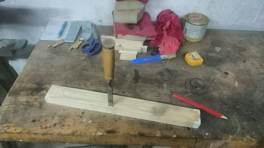 Making the Handle and the Sheath