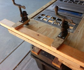 Table Saw Hold Down Clamps