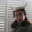 Cardboard Viking Helmet