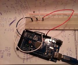 Arduino LDR Speedometer