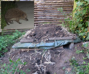 Hedgehog Pallet Home (Possibly Combine It With Your Compost)