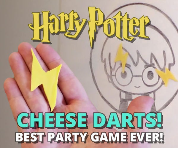 Harry Potter Cheese Darts