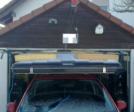 A Crane for My Car Roof Tent