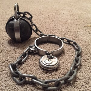 Second Ball and Chain I Made.