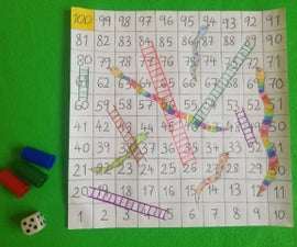 How to Make Your Own SNAKES & LADDERS Game